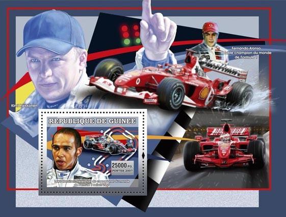 Formula I - Issue of Guinée postage stamps