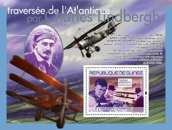 Orville et Wilbur Wright - Issue of Guinée postage stamps