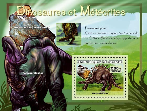 Parasaurolophus / NWA 4149 - Issue of Guinée postage stamps
