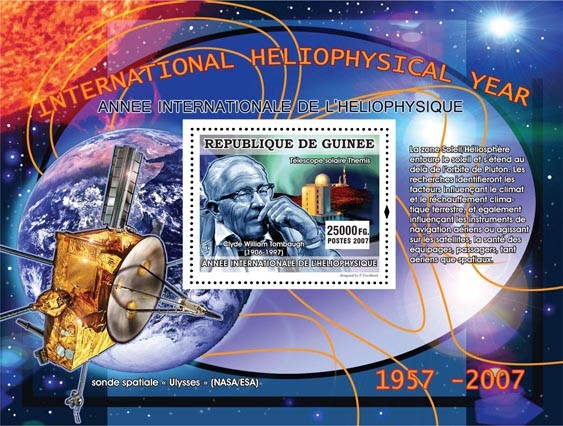Clyde William Tombaugh ( 1906-1997 ) - Issue of Guinée postage stamps