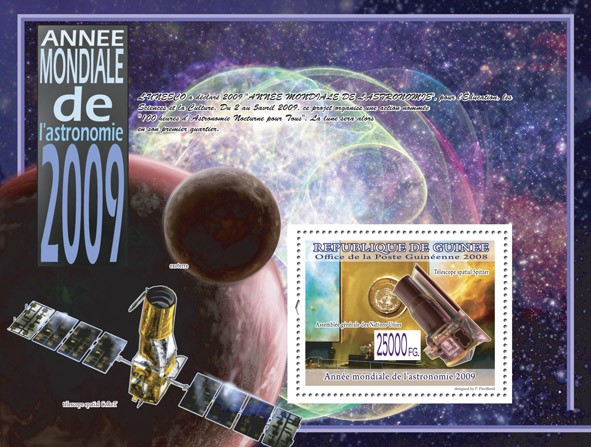 Spitzer?タᆵ Space Telescope ( Space Telescope Corot?タᆵ ) - Issue of Guinée postage stamps