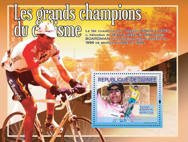Miguel Duran (on the stamp) - Issue of Guinée postage stamps