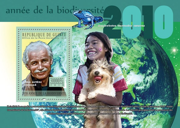 Anniversary Biodiversite - Issue of Guinée postage stamps