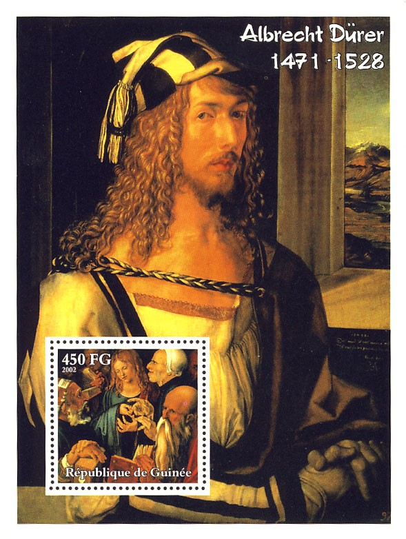 Albrecht D?ᄐrer (1471-1528) - Issue of Guinée postage stamps